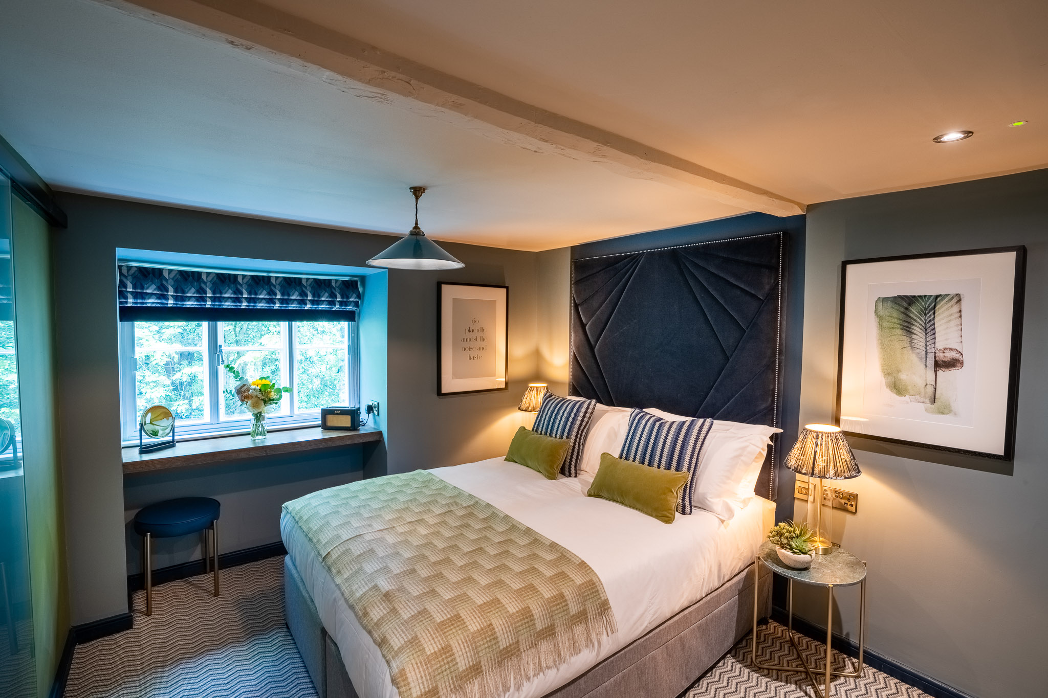Unravel in one of our eleven beautifully distinctive rooms. Click to find out more about the best of the best hotels in Cirencester.